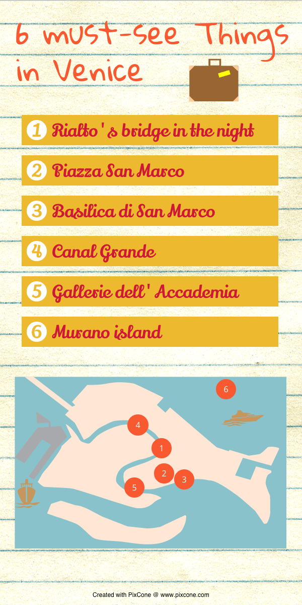 Lovely Venice Infographic